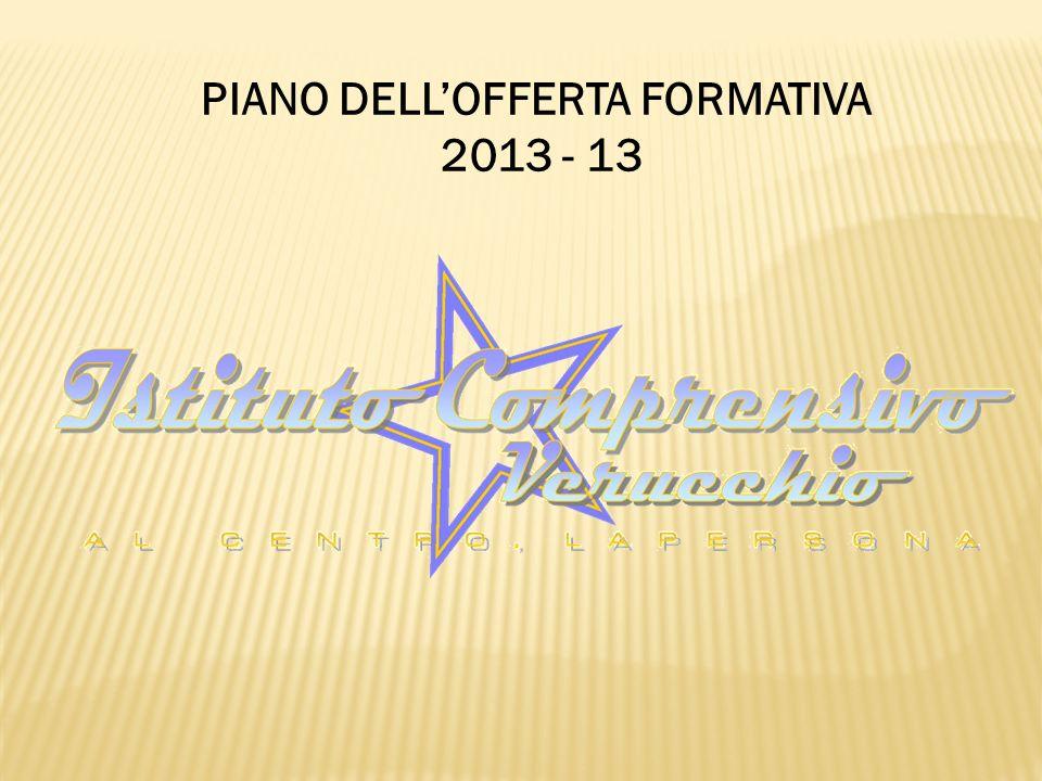 PIANO DELLOFFERTA FORMATIVA 2013 - 13