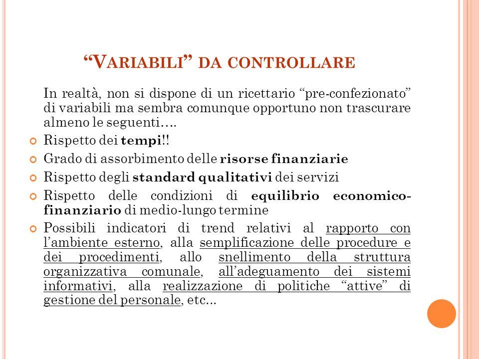 L A C OMMISSIONE PER LA VALUTAZIONE, LA TRASPARENZA E L INTEGRITÀ DELLE AA.PP.