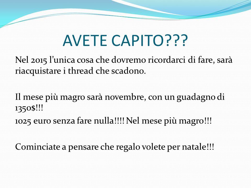 AVETE CAPITO??.