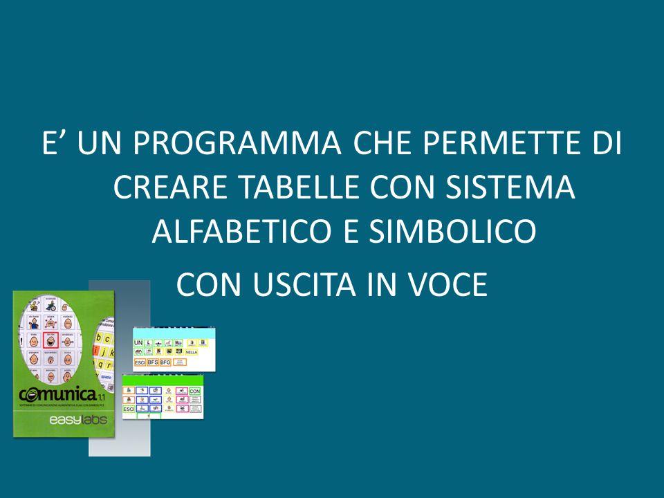 COMUNICA ULTIMA VERSIONE 1.1.19.02 DEFAULT Tastiera Qwerty con predizione Tastiera ABCDE con predizione Sillabe italiane www.lgassistivetechnologies.com