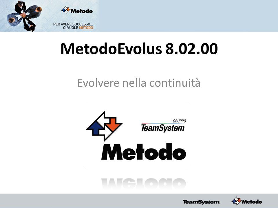 MetodoEvolus 8.02.00 Evolvere nella continuità