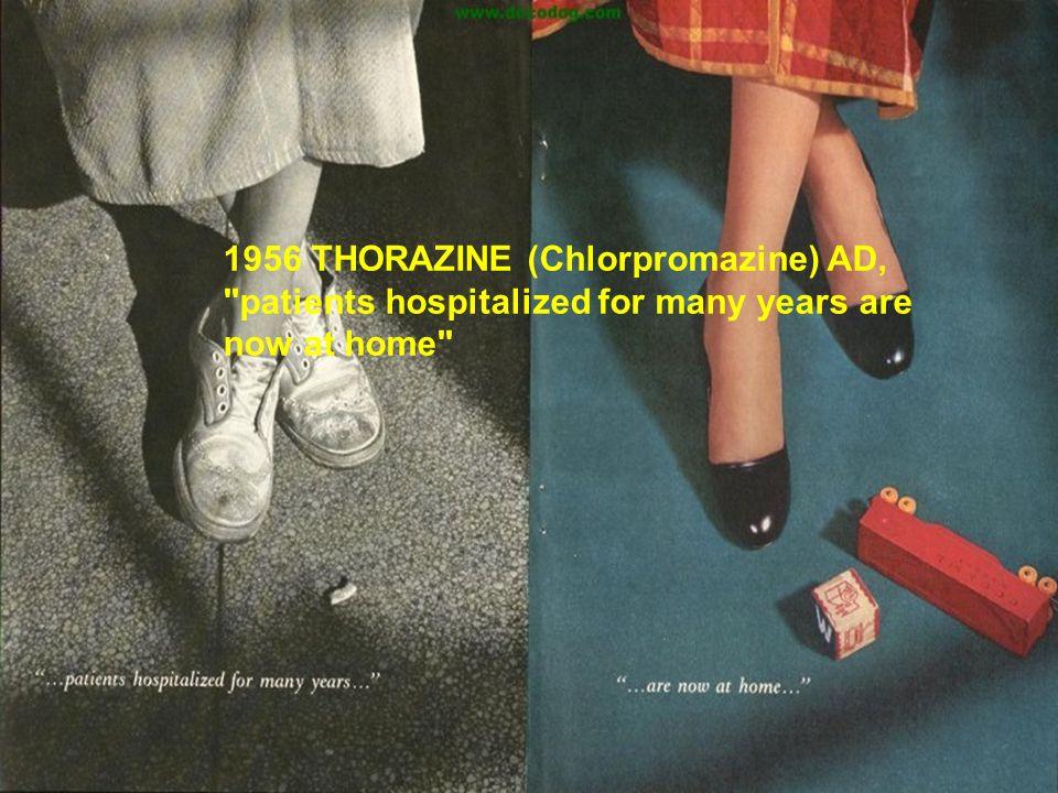 1956 THORAZINE (Chlorpromazine) AD,