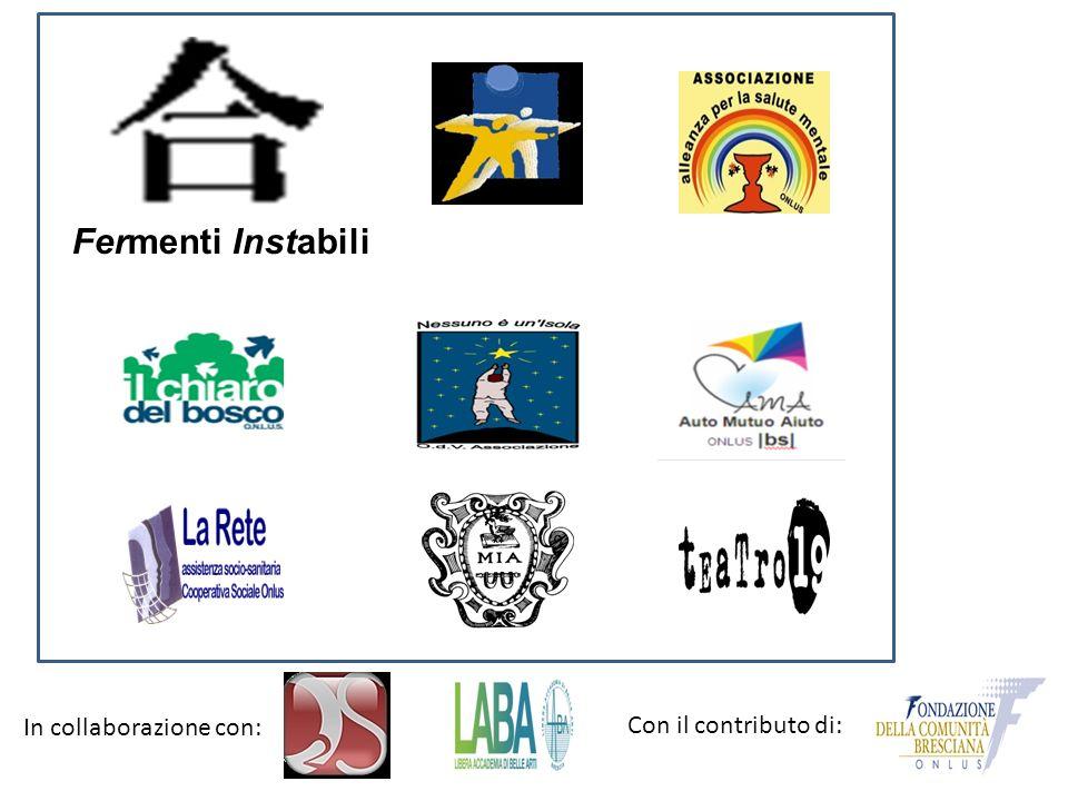 Fermenti Instabili In collaborazione con: Con il contributo di: