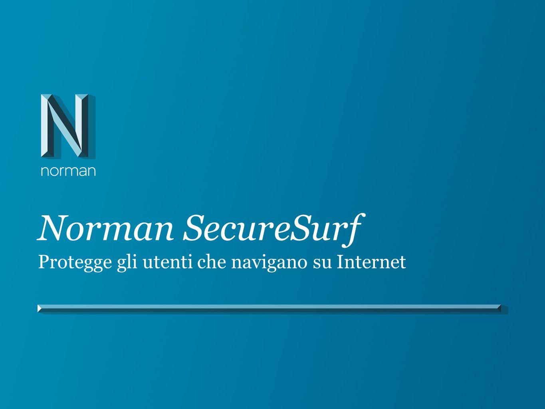 Norman SecureSurf Protegge gli utenti che navigano su Internet