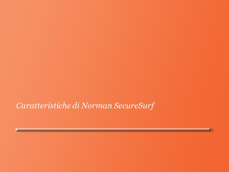Caratteristiche di Norman SecureSurf