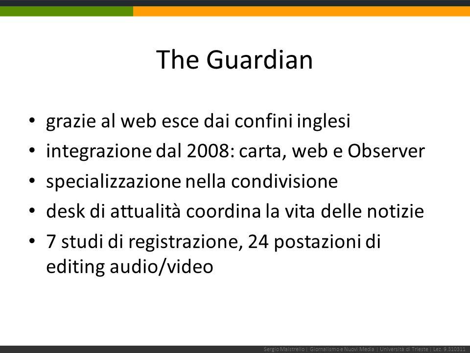 Sergio Maistrello | Giornalismo e Nuovi Media | Università di Trieste | Lez.