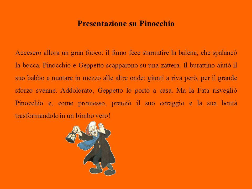 Presentazione su Pinocchio Il personaggio di Pinocchio - burattino umanizzato nella tendenza a nascondersi dietro facili menzogne e a cui cresce il naso in rapporto ad ogni bugia che dice - è stato fatto proprio con il tempo anche dal mondo del cinema e da quello dei fumetti.