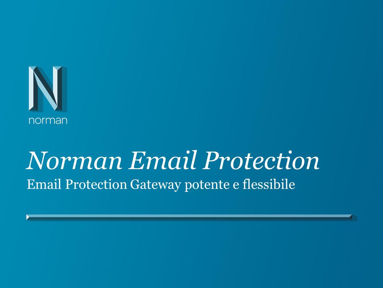 Amministrazione locale totale Personalizzazione del sistema di protezione Soluzione scalabile Integrazione del proprio server di posta elettronica Impostazione di un sistema di protezione e filtraggio personalizzato e adatto alle proprie esigenze Scalabilità pari a migliaia di domini e caselle di posta Integrazione con Microsoft Exchange e Outlook