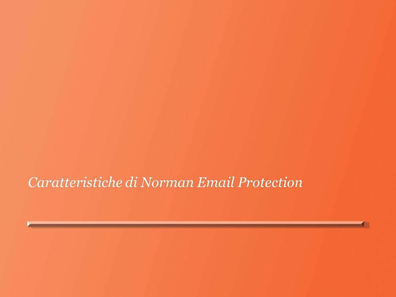 Caratteristiche di Norman Email Protection