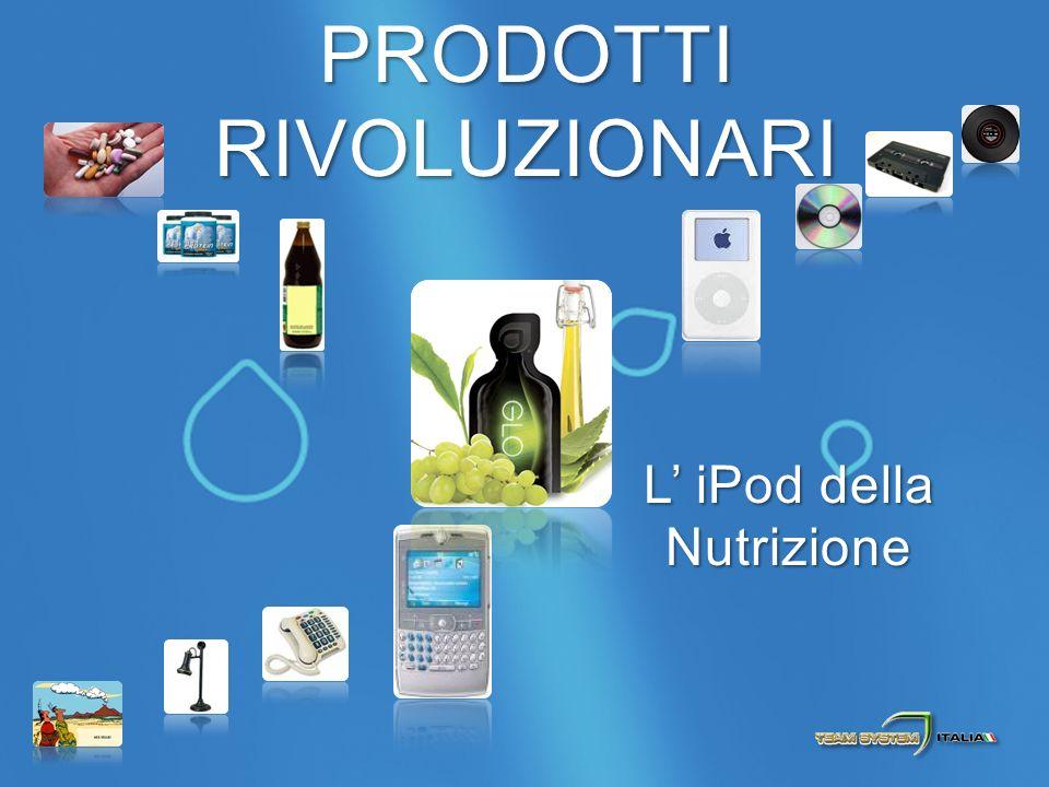 PRODOTTI RIVOLUZIONARI L iPod della Nutrizione