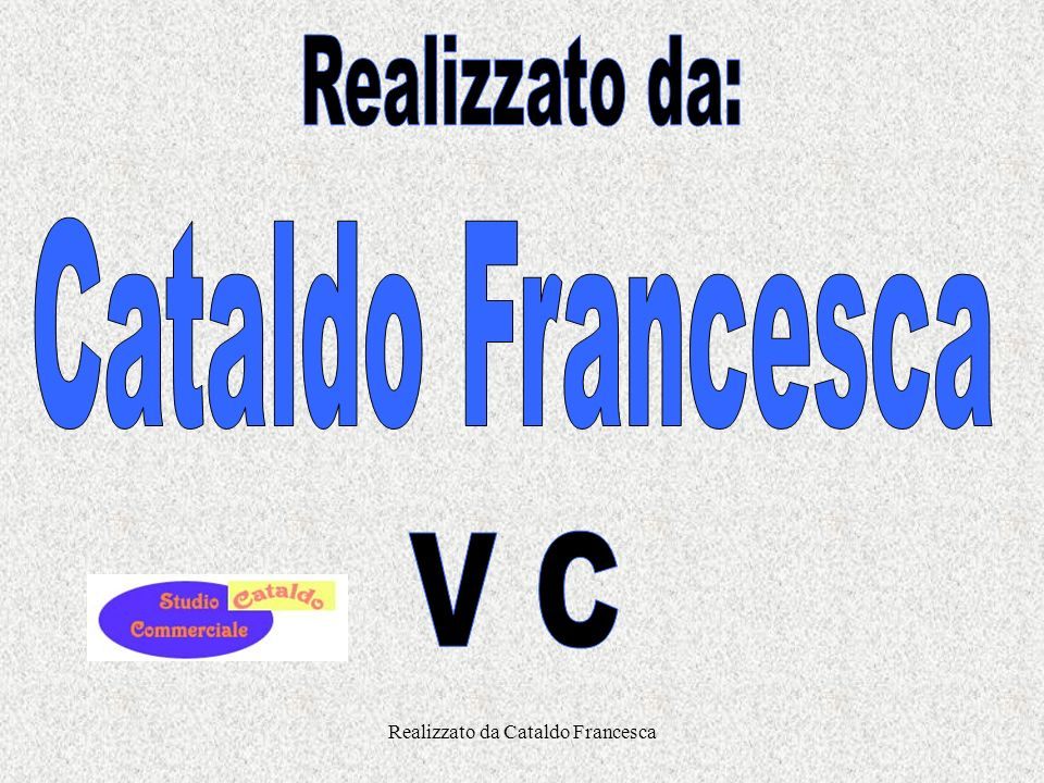 Realizzato da Cataldo Francesca Il metodo della partita doppia Il metodo della partita doppia stabilisce le regole di registrazione per ogni operazion