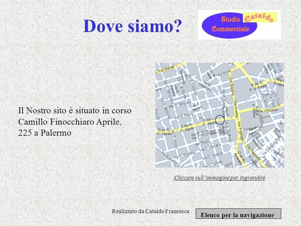 Realizzato da Cataldo Francesca Servizi offerti: Il nostro sito offre una ottima: Consulenza fiscale relativa allimposta diretta indiretta e sostituti
