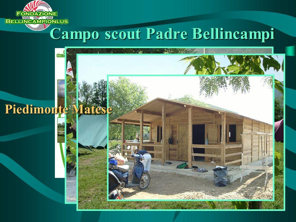 Campo scout Padre Bellincampi Piedimonte Matese