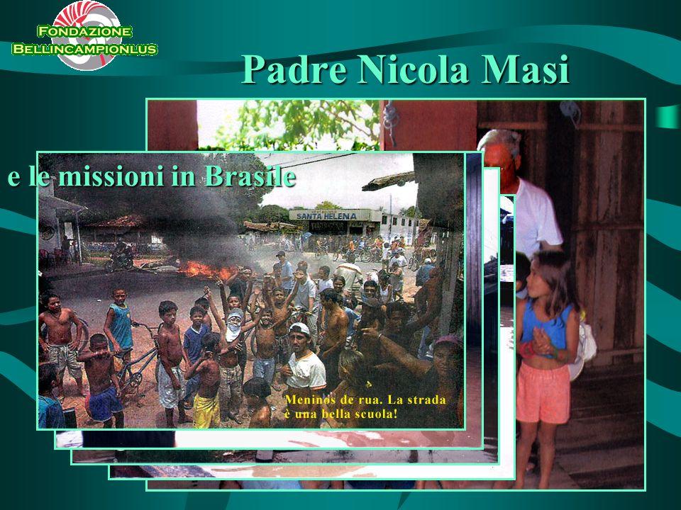Padre Nicola Masi e le missioni in Brasile