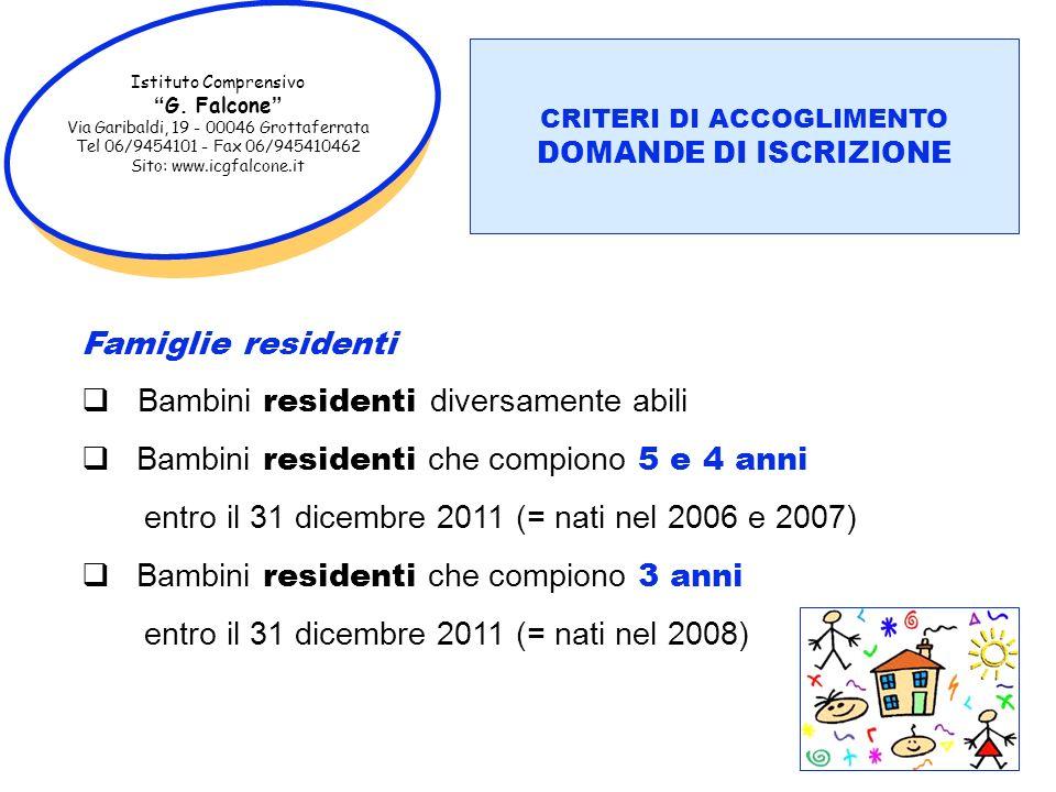Istituto Comprensivo G. Falcone Via Garibaldi, 19 - 00046 Grottaferrata Tel 06/9454101 - Fax 06/945410462 Sito: www.icgfalcone.it CAMPI DI ESPERIENZA
