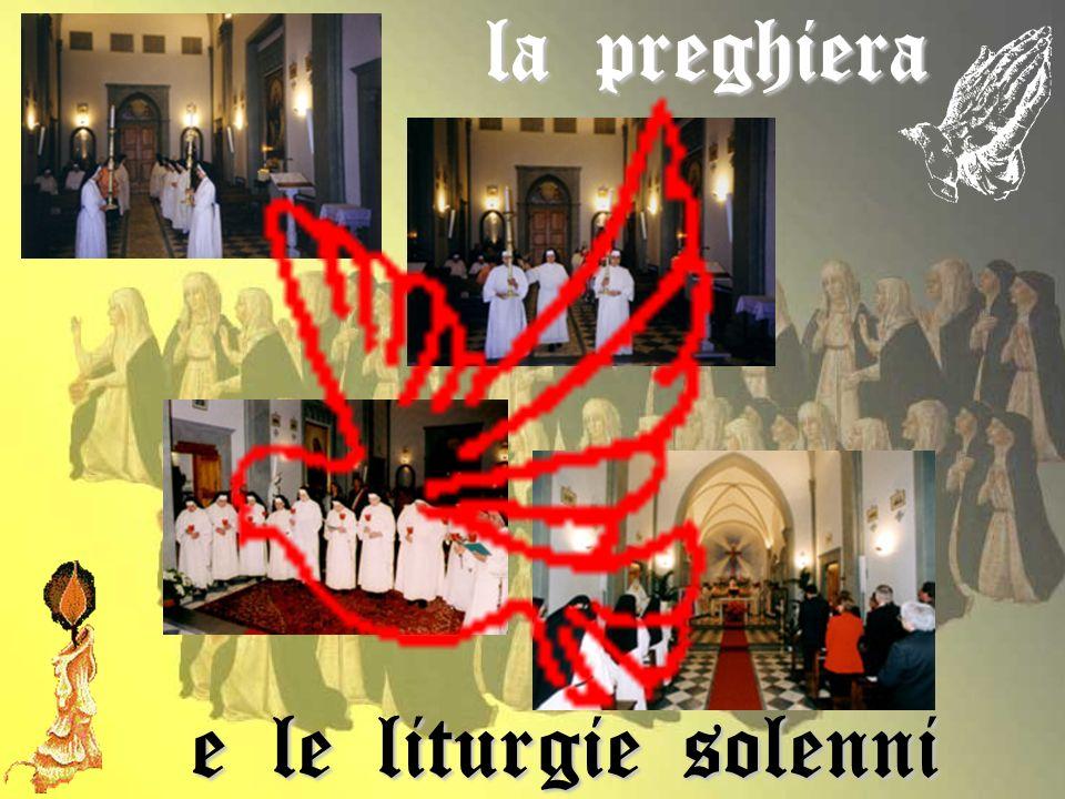 la preghiera e le liturgie solenni