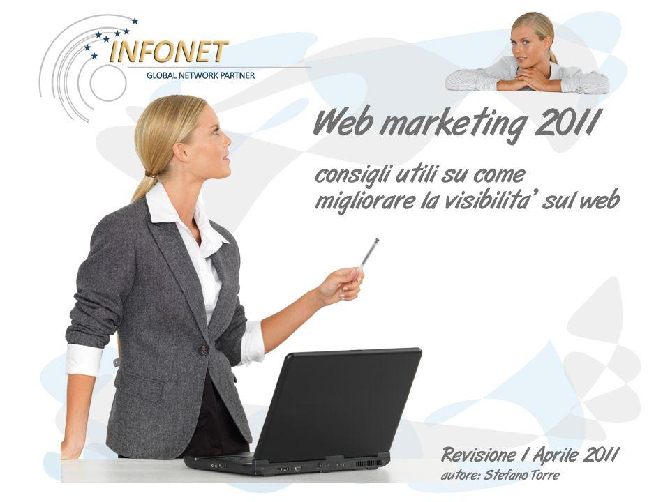 Il sito internet aziendale Rappresenta il fulcro del nostro web marketing.