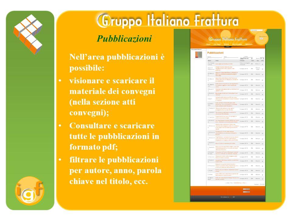 Rivista Frattura ed integrità strutturale Nellarea dedicata alla rivista è possibile: scaricare la rivista in formato pdf; aprire una versione flash sfogliabile a schermo.
