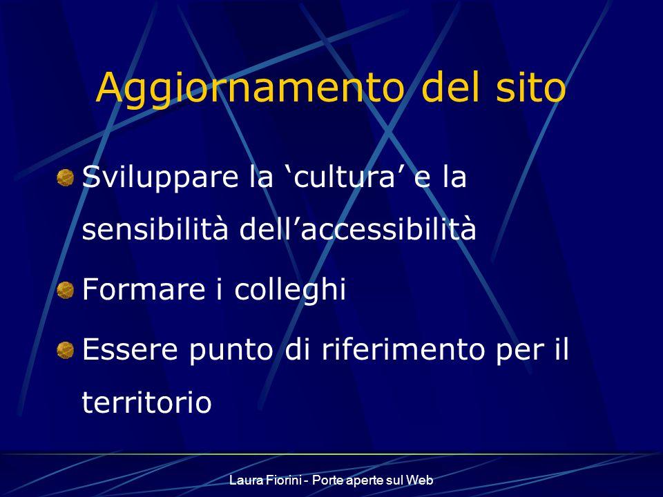 Laura Fiorini - Porte aperte sul Web La community www.eun.org