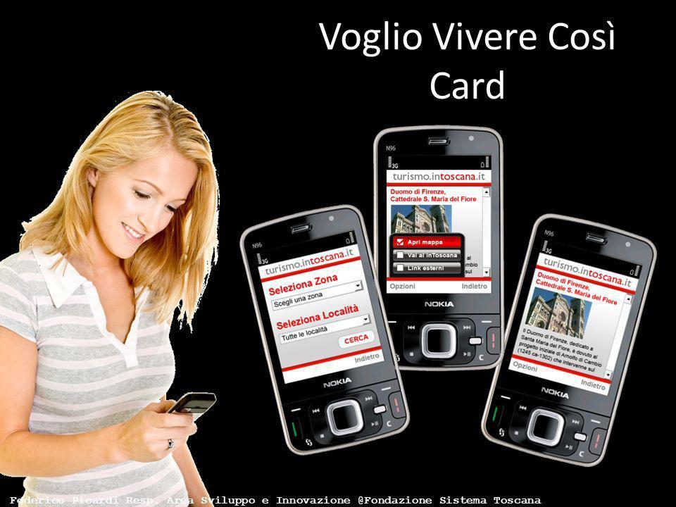 Voglio Vivere Così Card Federico Picardi Resp. Area Sviluppo e Innovazione @Fondazione Sistema Toscana