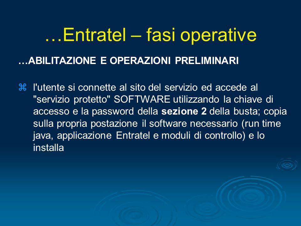 …ABILITAZIONE E OPERAZIONI PRELIMINARI zl'utente si connette al sito del servizio ed accede al