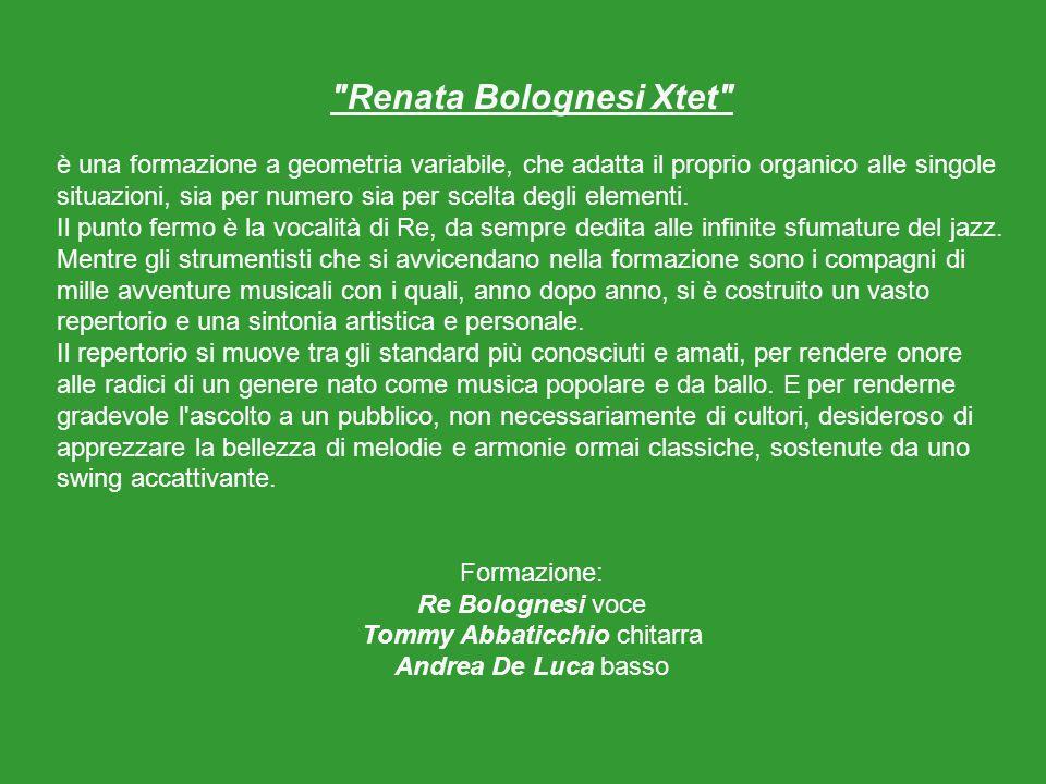 Renata Bolognesi leader del Gruppo