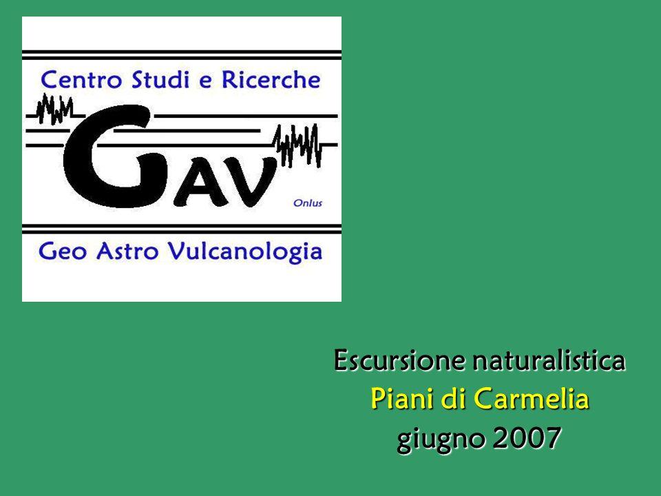 Escursione naturalistica Piani di Carmelia giugno 2007