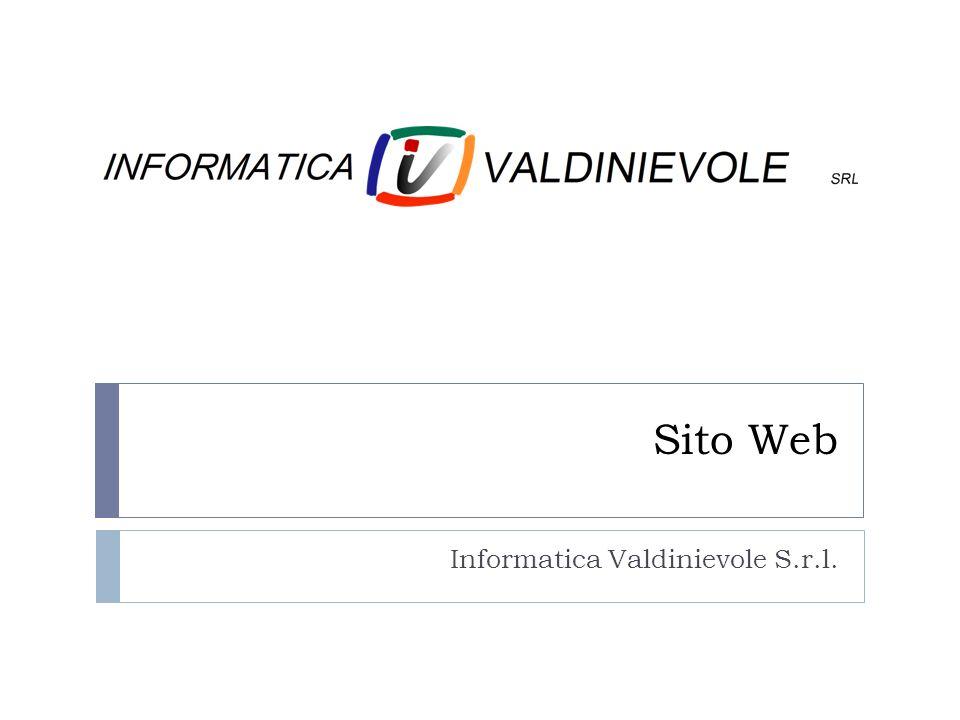 Sito Web Informatica Valdinievole S.r.l.