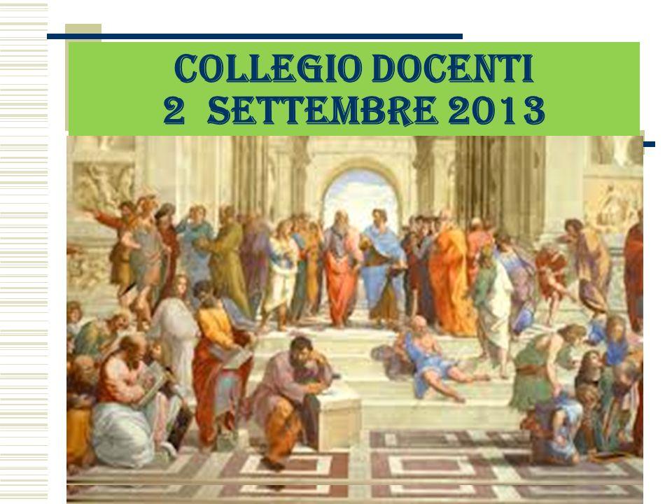 COLLEGIO DOCENTI 2 SETTEMBRE 2013 1