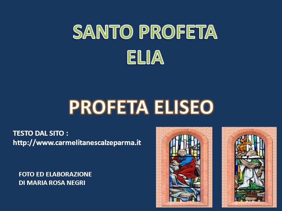 TESTO DAL SITO : http://www.carmelitanescalzeparma.it FOTO ED ELABORAZIONE DI MARIA ROSA NEGRI
