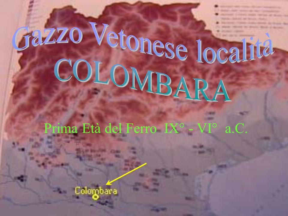 Prima Età del Ferro IX° - VI° a.C.