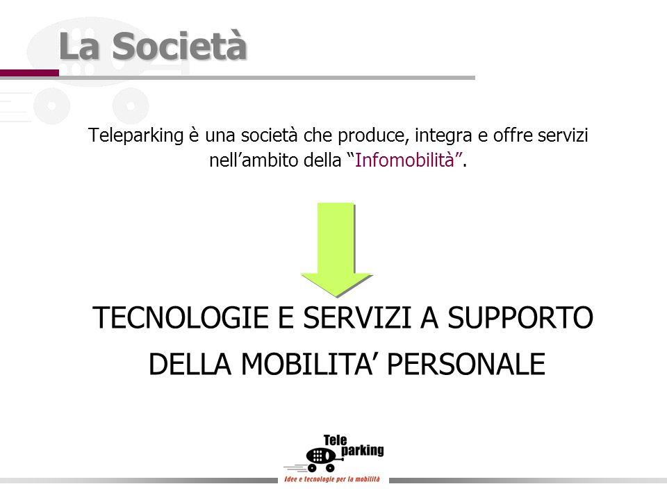 La Società Teleparking è una società che produce, integra e offre servizi nellambito della Infomobilità.