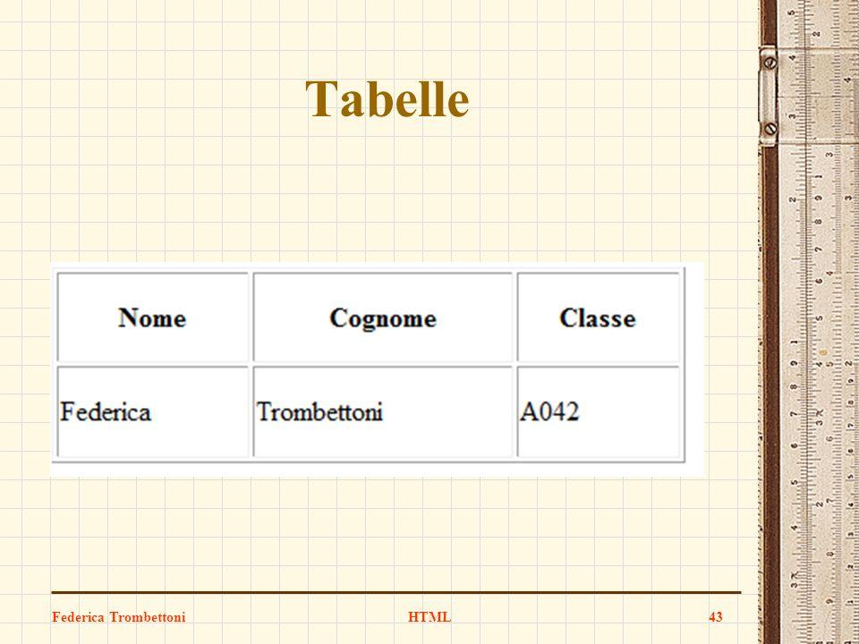 Tabelle Federica TrombettoniHTML43