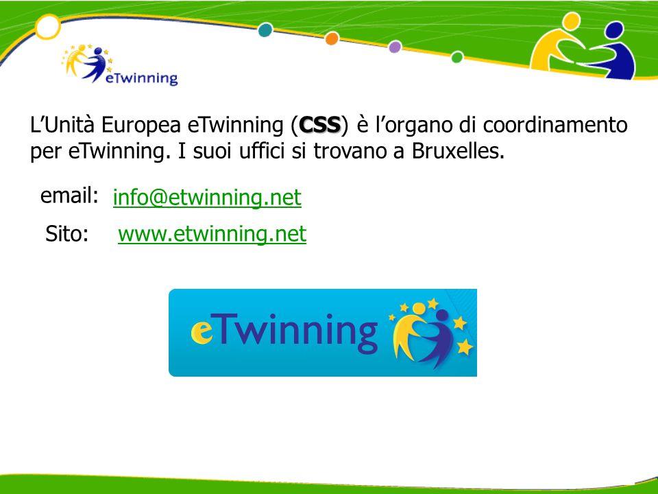 NSS LUnità Nazionale eTwinning (NSS) promuove lazione eTwinning in ciascun paese europeo.