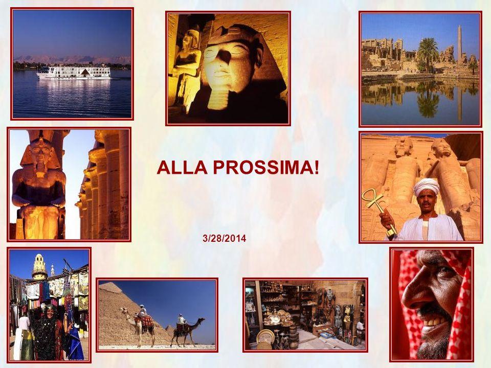 ALLA PROSSIMA! 3/28/2014