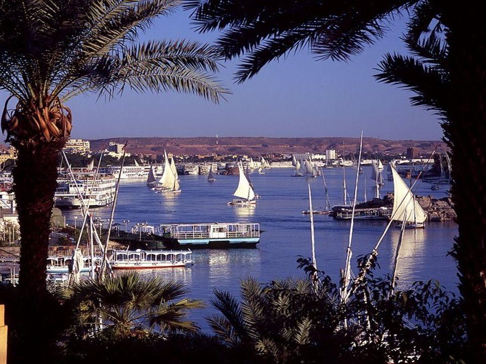 Principale corso d'acqua dell'Egitto e il più importante fiume dell'Africa, il Nilo è alimentato da tre affluenti principali: il Nilo Bianco, che nasc