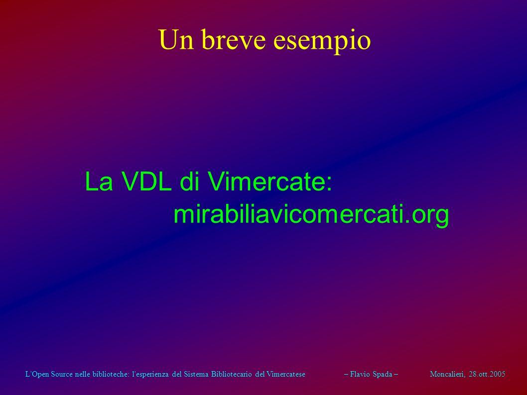 L'Open Source nelle biblioteche: l'esperienza del Sistema Bibliotecario del Vimercatese – Flavio Spada – Moncalieri, 28.ott.2005 Conclusioni Le Ammini