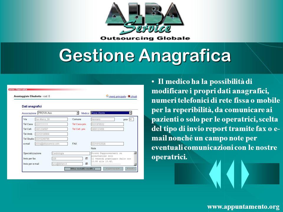 Gestione del Servizio Centro prenotazione medici BUONGIORNO, sono Monica in cosa posso esserle utile ? Risposta personalizzata…. www.appuntamento.org