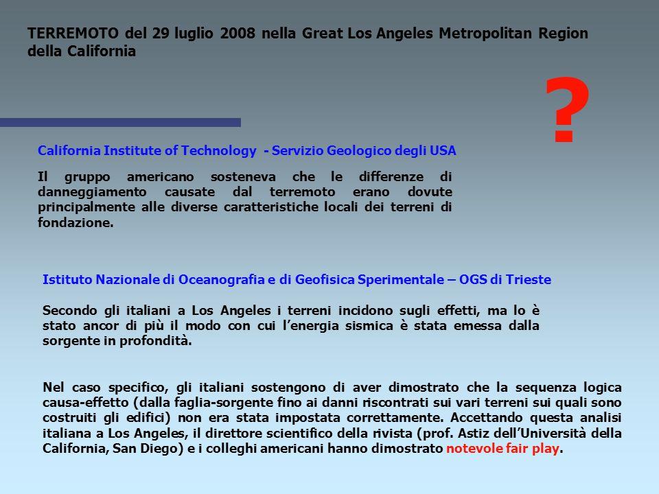 Mauro Corrao - Geocheck s.r.l. - CATANIA METODI SPERIMENTALI PER LA VALUTAZIONE DELLA RISPOSTA SISMICA LOCALE E NTC 2008