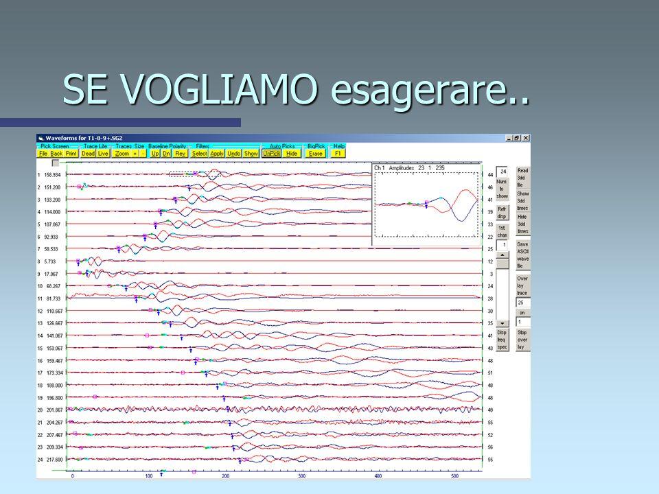 Esempio di restituzione sismica superficiale SH