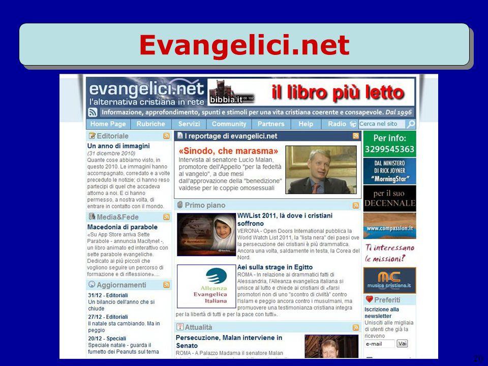 20 Evangelici.net