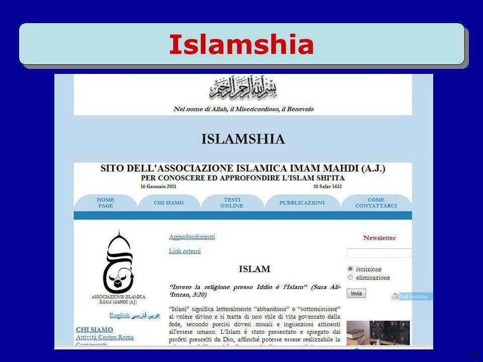 26 Islamshia