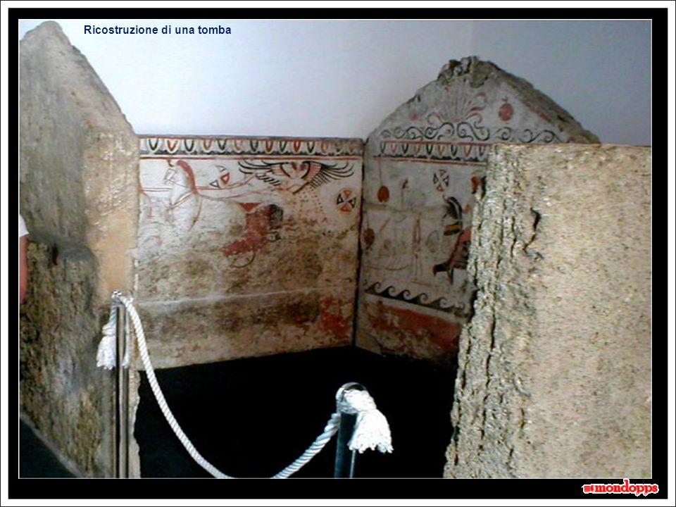 Il Museo: Affreschi funerari 10 secondi