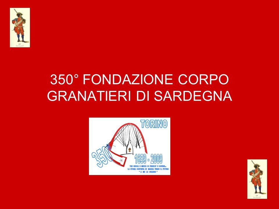 350° FONDAZIONE CORPO GRANATIERI DI SARDEGNA