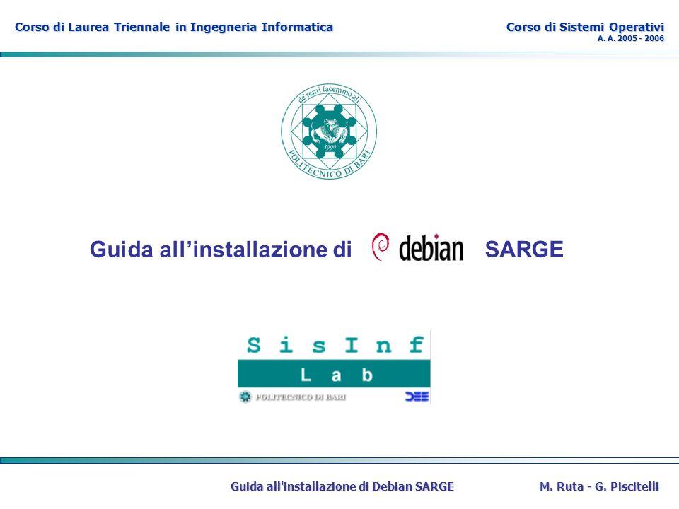 Corso di Laurea Triennale in Ingegneria Informatica Corso di Sistemi Operativi A.