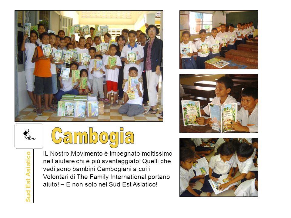 IL Nostro Movimento è impegnato moltissimo nellaiutare chi è più svantaggiato! Quelli che vedi sono bambini Cambogiani a cui i Volontari di The Family