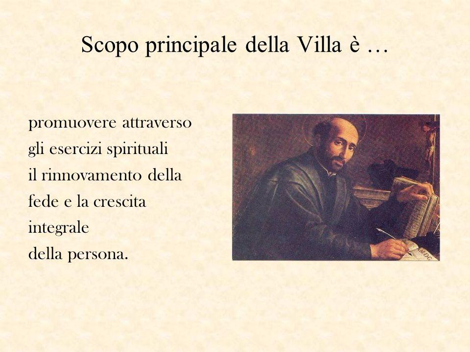 La Villa viene affidata alla protezione di S.