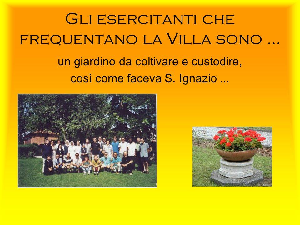 La Villa dispone anche di un grande parco Il Signore è il mio pastore: su pascoli di erba nuova mi fa accovacciare (Sal 23, 1-2).