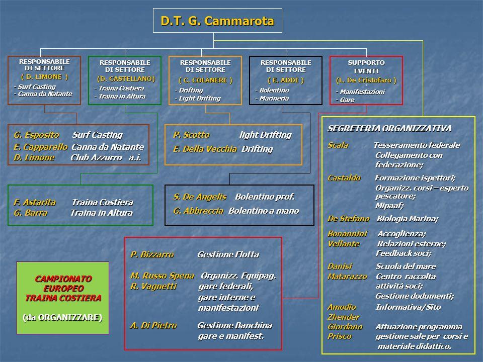 D.T. G. Cammarota RESPONSABILE DI SETTORE ( D.