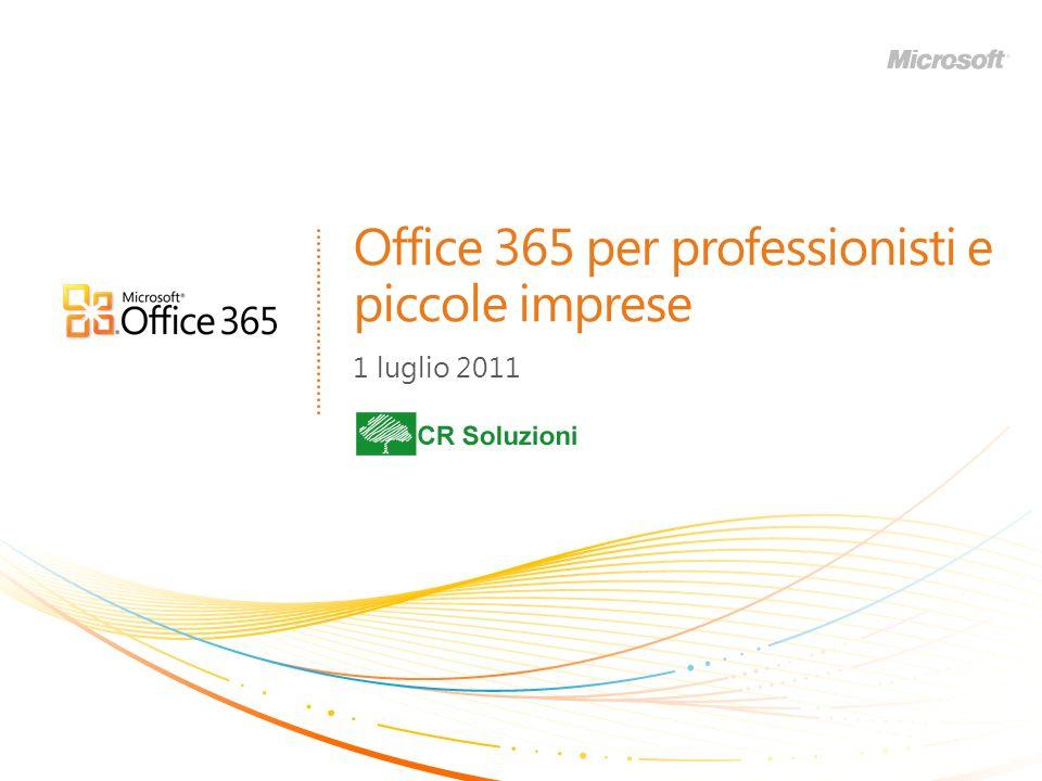 Office 365 per professionisti e piccole imprese 1 luglio 2011